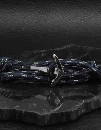 BRAVE-acél-horgony-karkötő-kék-textil (7)